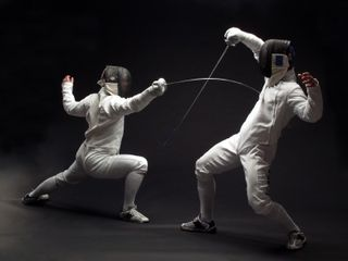 Fencing-Match