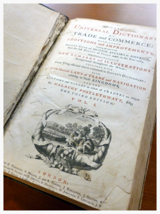 Postlethwayt-title-page